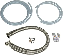 """Water2buy Installation Kit Stainless Steel Braided Hoses 1"""" (28mm) >Drain & Overflow Kit > Water Hardness Test Strip"""