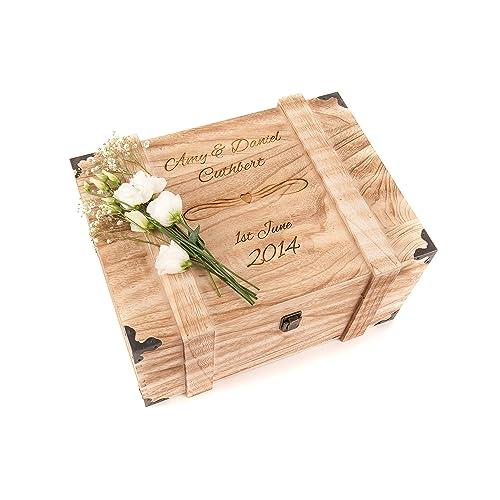 Wedding Preservation Boxes: Personalised Memory Box: Amazon.co.uk
