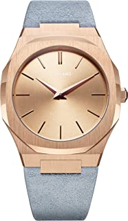 Ultra Thin Rose Gold Ladies Watch A-UTL04