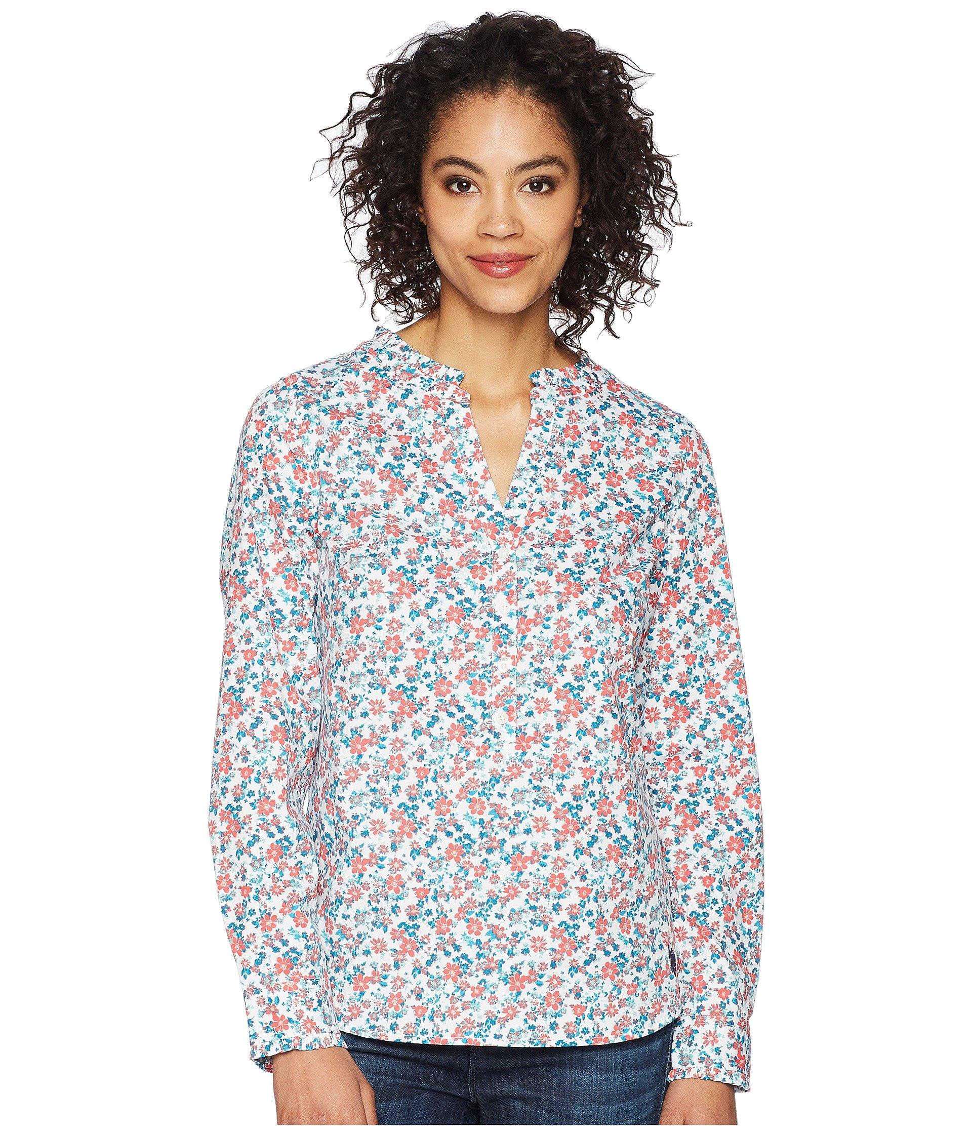 Blusa para Mujer U.S. POLO ASSN. Multi Floral Blouse  + U.S. POLO ASSN. en VeoyCompro.net