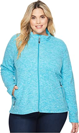Roper - Plus Size 1464 Cationic Turquoise Micro Fleece