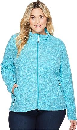 Roper - Plus Size 1464 Cationic Turquoise Micro Fleece