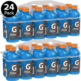Gatorade Fierce Thirst Quencher, Blue Cherry, 12 Ounce Bottles (Pack of 24)