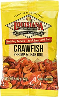 Louisiana Boil Crwfsh Crab Shrimp, 5 Oz (Pack of 4)