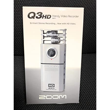 ZOOM 高画質&高音質ハンディビデオレコーダー Q3HD