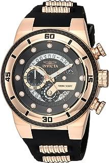 Invicta S1 Rally 24226 - Reloj de cuarzo para hombre (acero inoxidable, correa de silicona, dos tonos, 26)