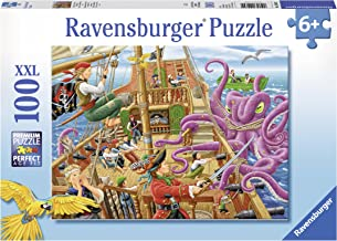 Ravensburger Pirate Boat Adventure Puzzle 100pc,Children's Puzzles