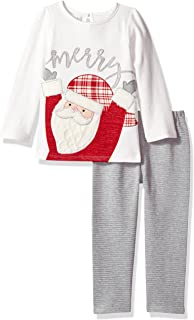 Baby Girls' Holiday Tunic and Leggings Two Piece Playwear Set