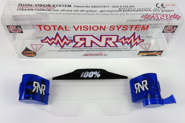 compatibile con Sistema Roll-Off Occhiali Motocross RNR PIR NRoll 100/%