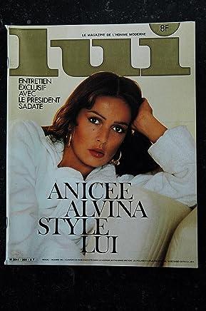 Lui 203 Anicee Alvina (30 novembre 1980) Integral Nude Rolls Stephen King Moreau Sexy Pin-Up Aslan [Single Issue Magazine]