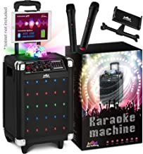 KaraoKing Karaoke Machine for Kids & Adults Wireless Microphone Speaker with Disco..