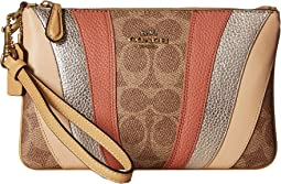 8872b6f1d Coach lacquer rivets polished pebbled crossbody pouch | Shipped Free ...
