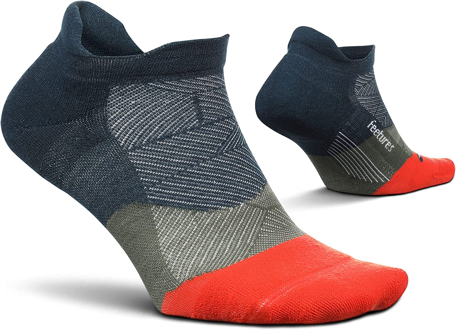 Feetures Elite Max Cushion No Baltimore Mall Show M Some reservation Tab for Running Socks Wave-