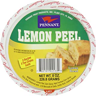 Diced Lemon Peel, 8 Ounce