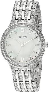 Bulova Women's 96L242  Swarovski Crystal Stainless Steel Watch