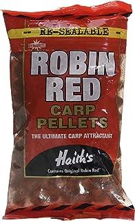Dynamite Baits Robin Red - Bolitas de cebo semiperforadas para pescar carpas