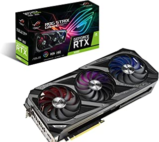 ASUS ROG STRIX NVIDIA GeForce RTX 3090 Gaming Graphics Card- PCIe 4.0, 24GB GDDR6X, HDMI 2.1, DisplayPort 1.4a, Axial-Tech...