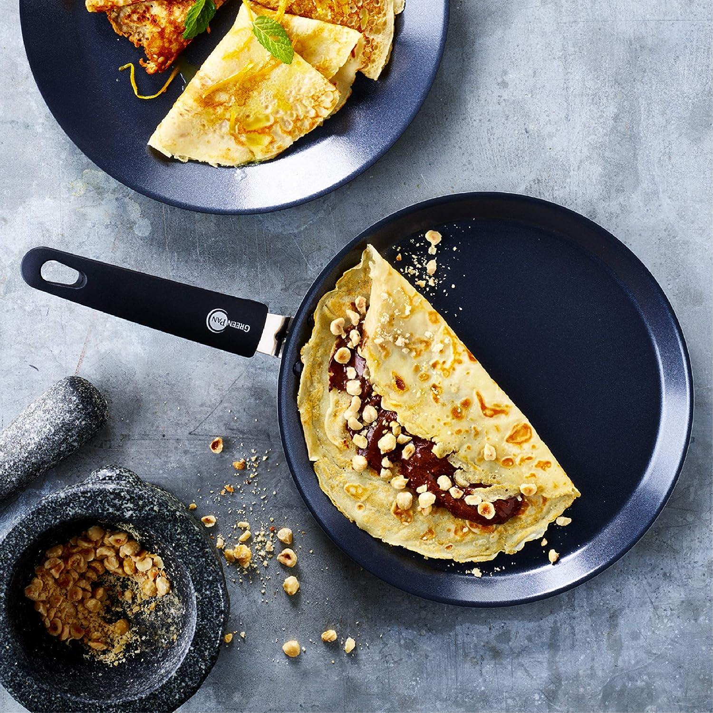 Pancake Pan Ceramic Marble 24cm Induction