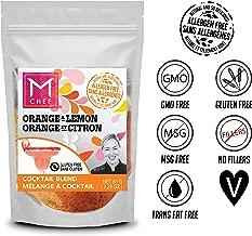 Orange and Lemon Cocktail Blend by MChef 2.29 oz. Vegan, Kosher & Allergy Safe. Gluten, Sulphite and Sulphate Free