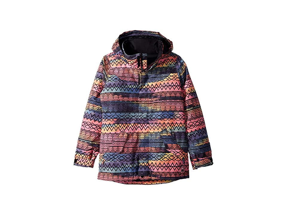 Burton Kids Elodie Jacket (Little Kids/Big Kids) (Technicat Dream) Girl