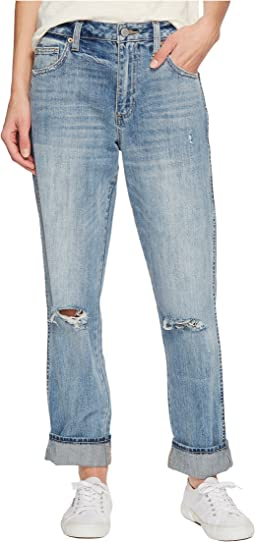 Lucky Brand - High-Rise Tomboy Jeans in Headliner Chew