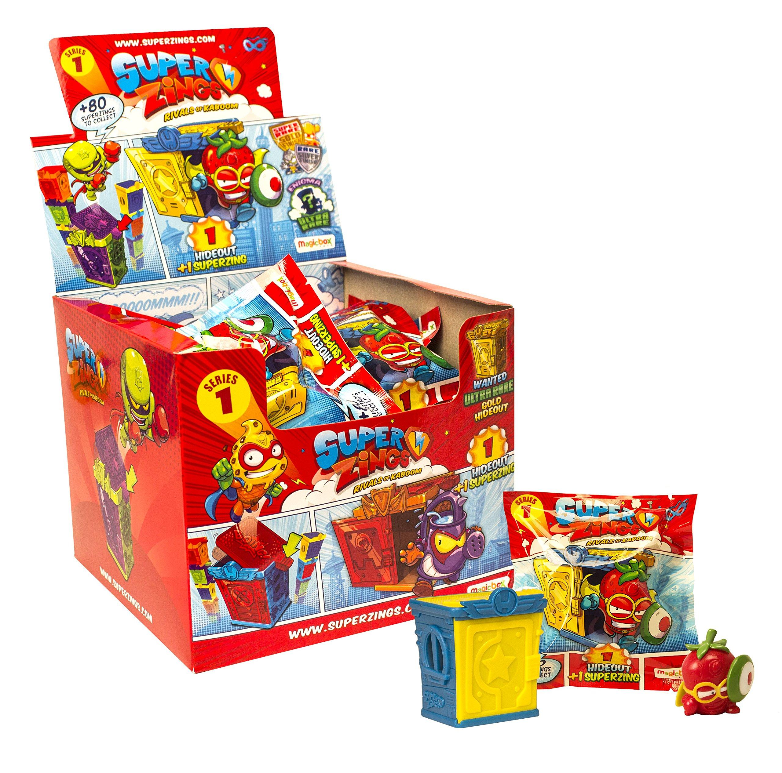 Superzings- Rivals of Kaboom Caja de figuras (Magic Box Int Toys SZ1P0202) , color/modelo surtido: Amazon.es: Juguetes y juegos