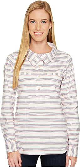 Acadia Stretch Long Sleeve Popover