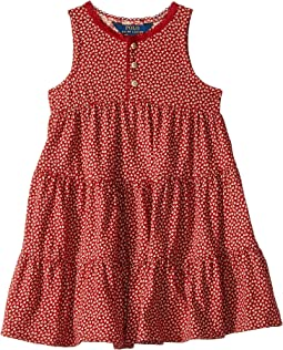 Floral Cotton Jersey Dress (Little Kids)