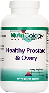 Nutricology Healthy Prostate and Ovary Veg-Capsules, 180-Count