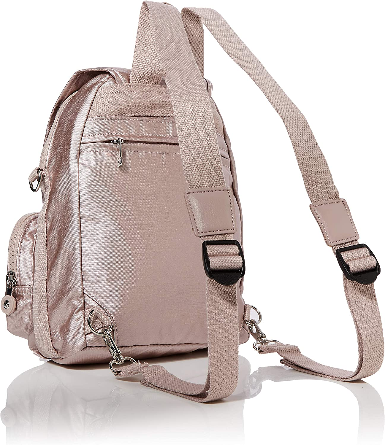 Kipling Firefly Up, Sacs à dos Femme Rose (Metallic Rose)