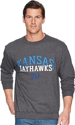 Champion College - Kansas Jayhawks Eco® Powerblend® Crew
