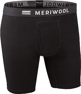 MERIWOOL Merino Wool Men's Boxer Brief Underwear - Choose Your Color