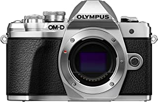 Olympus E-M10 Mark III Gövde (16 Megapiksel, 4K Video, 5-Eksen IS, Wi-Fi), Gümüş
