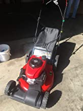 honda black max self propelled mower