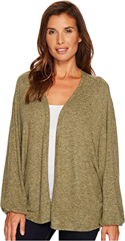 B Collection by Bobeau - Journey Oversized Cozy Cardigan