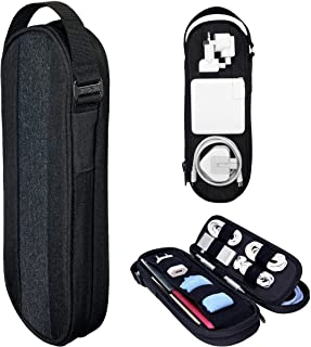 SIDE BY SIDE - Premium Pouch Organizer for Tech, Electronics, Cords, Chargers - Everyday Carry...