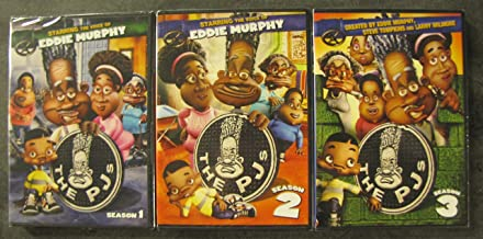 The PJ's: Complete Seasons 1-3 (DVD 3-Pack: Season 1, Season 2, Season 3)