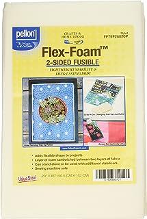 """Pellon Flex-Foam stabilizer, 20"""" x 60"""", White"""