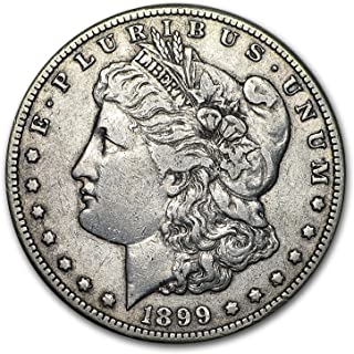 1899 S Morgan Dollar VG/VF $1 Very Good