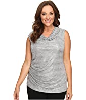 Calvin Klein Plus - Plus Size Sleeveless Metallic Top