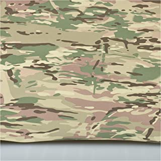 Multicam Pattern Camouflage 600D Nylon PVC Coated Waterproof Fabric