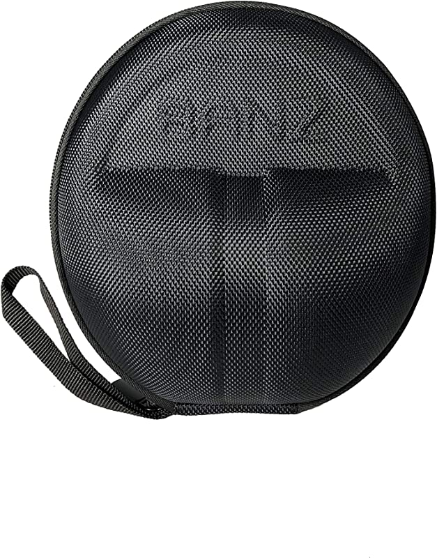 Baby Banz Earmuffs CASE Protective Premium Hard EVA Case Holds BANZ Baby Size Earmuffs And Bluetooth Baby Headphones Protect Children Hearing Earmuffs Travel Case Black