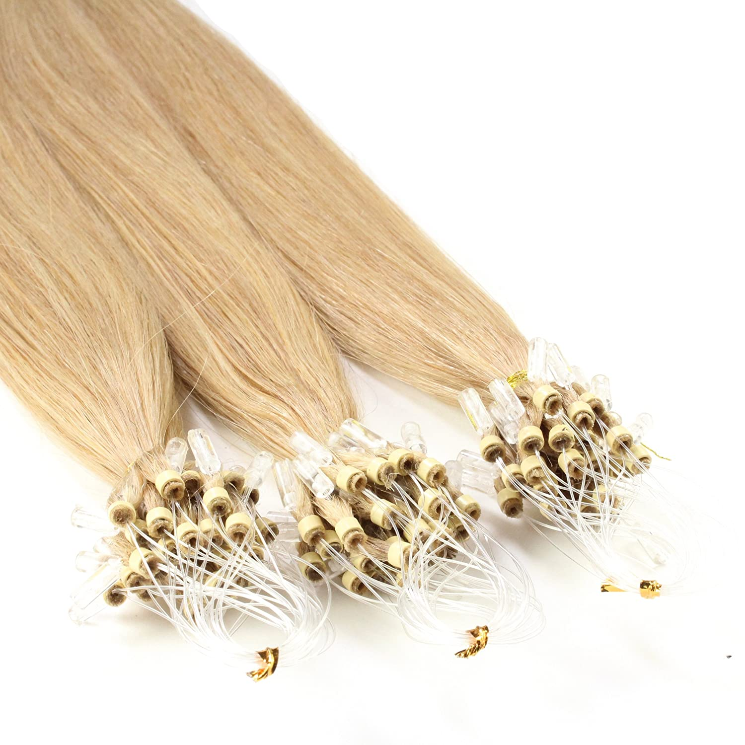 Excellent Just Beautiful Quantity limited Hair and Cosmetics Extension Micro Loop Remy