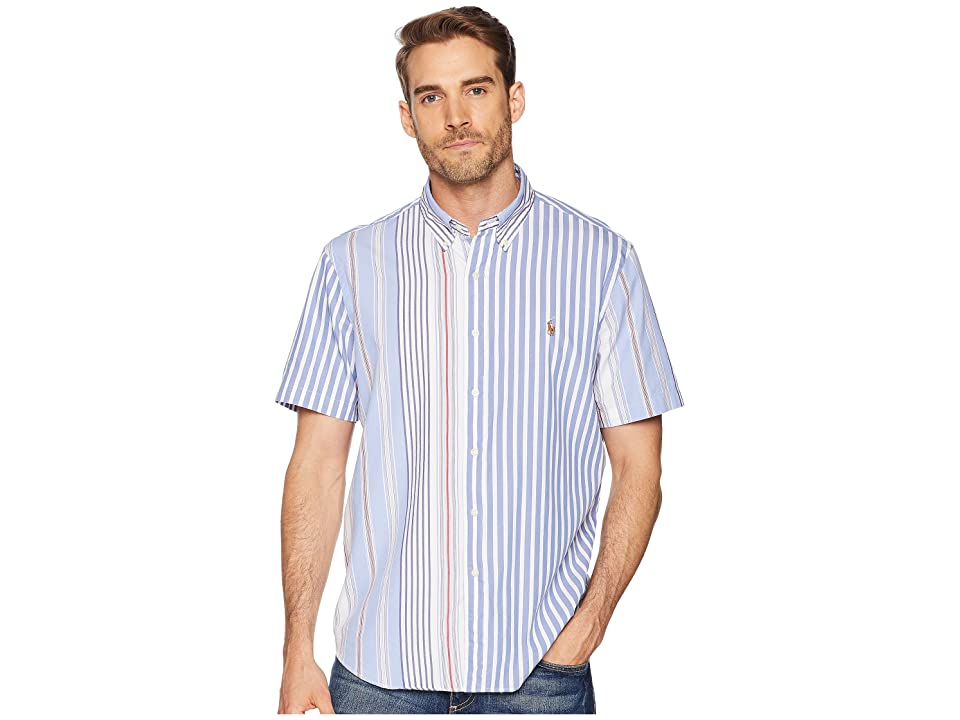 Polo Ralph Lauren Striped Pony Player Sport Shirt (Fun Shirt) Men