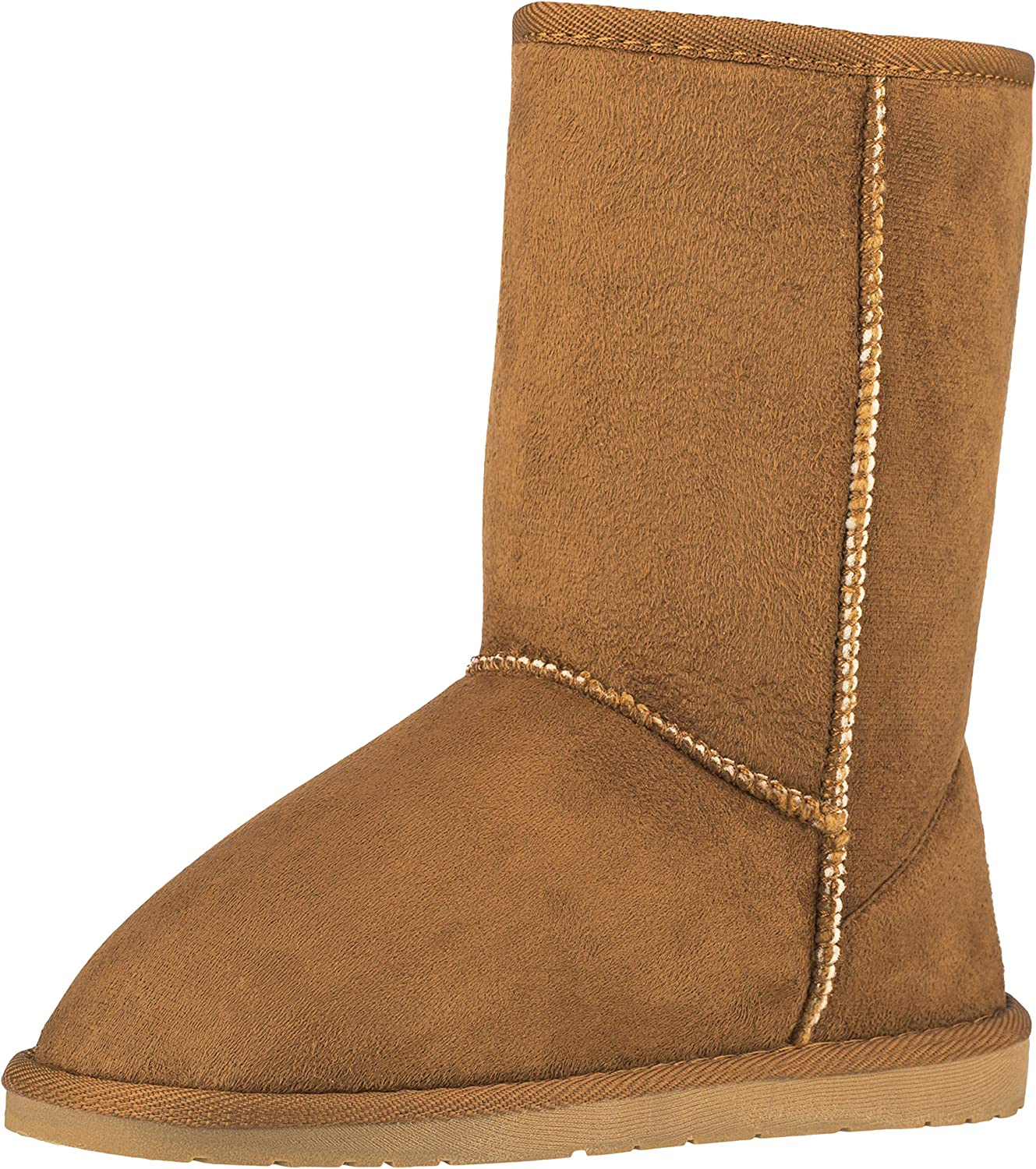 CLOVERLY Women's Winter Snow Boots At the price of surprise Leather Sh Classic Vegan Las Vegas Mall