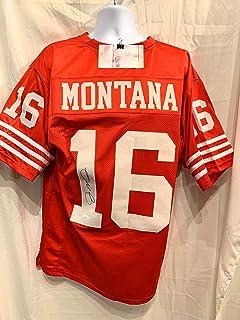 bf6a3b101 Joe Montana San Fransico 49ers Signed Autograph Custom Jersey JSA Witnessed  Certified