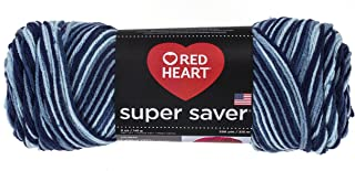 Red Heart Super Saver Yarn - Shaded Dusk (Pack of 3)