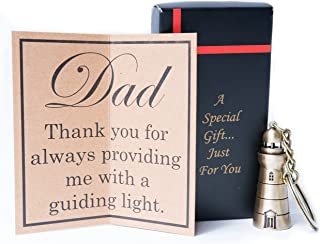 Dad Gifts - Dad Keychain - Gifts For Dad - Best Dad Gifts - Fathers Day Gifts - Keychain For Dad From Daughter And Son