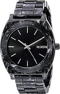 Nixon Women's A3272185 Time Teller Acetate Analog Display Japanese Quartz Multi-Color Watch