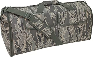Code Alpha Hybrid Garment Duffel Bag, Digital Camouflage, Air Force